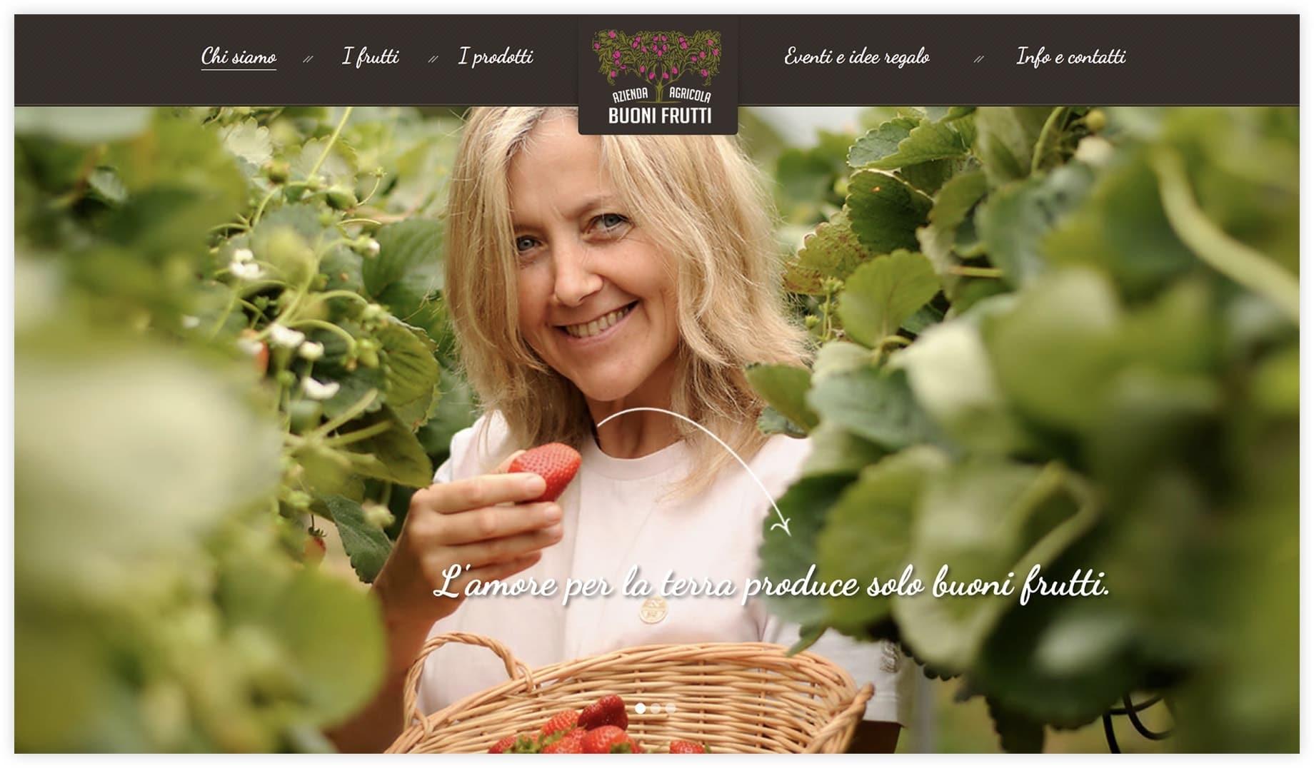 Sito web Buoni Frutti - Brescia