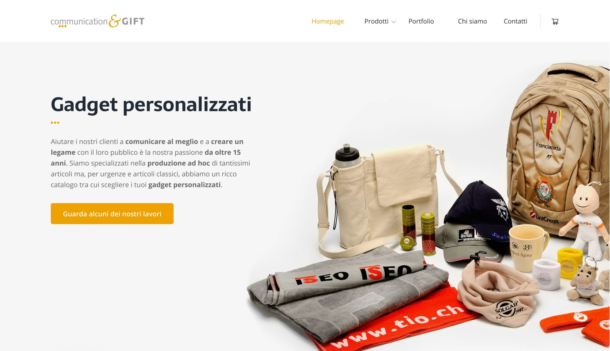 Sito web Communication & GIFT