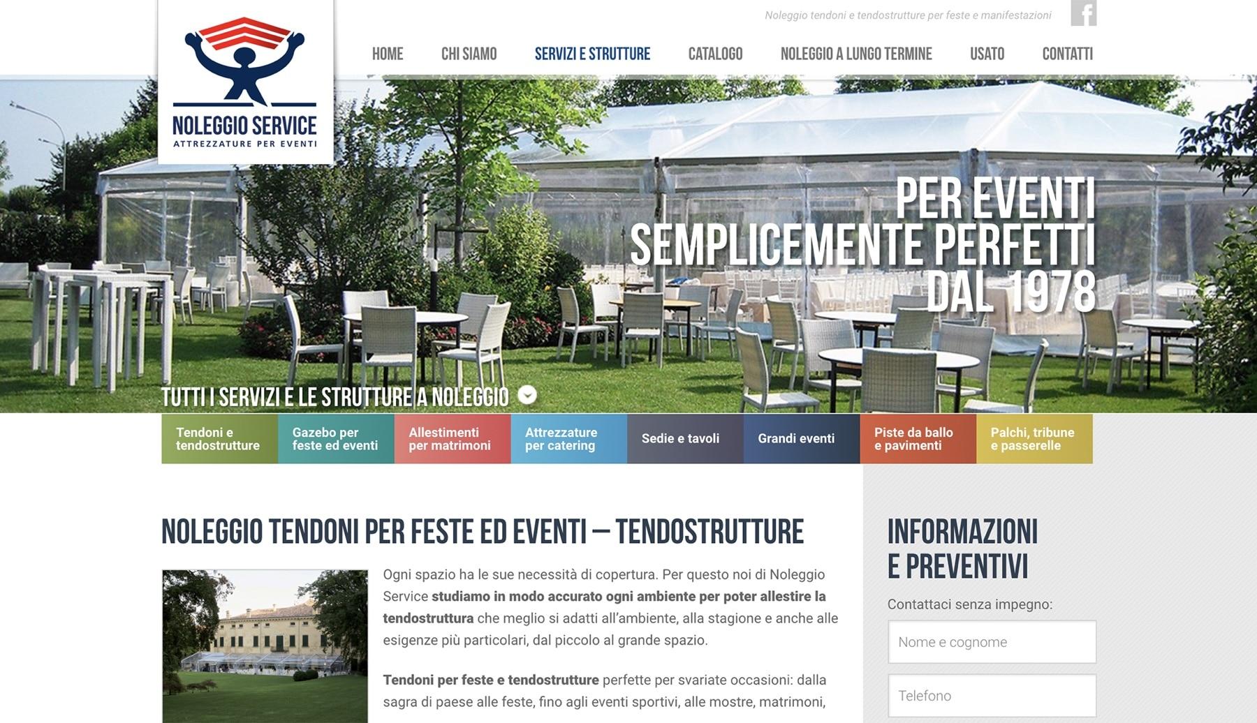 Sito web Noleggio Service - Mantova