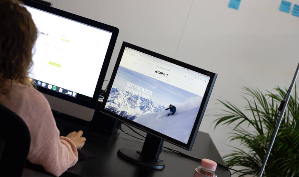 Realizzazione del sito e-commerce Kedra-T