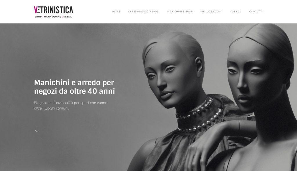 Sito web Vetrinistica Studio - Brescia