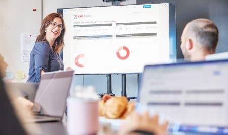 Presentazione di una strategia SEO per digital marketing